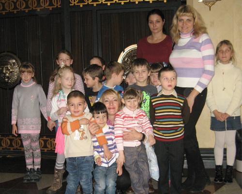 дети в белгосцирке