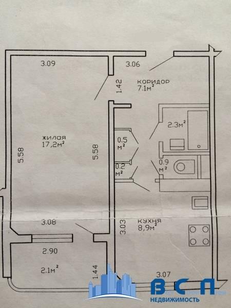 план квартиры на есенина 47